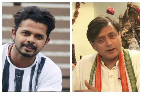 Shashi Tharoor and Sreesanth bat against each other on Twitter