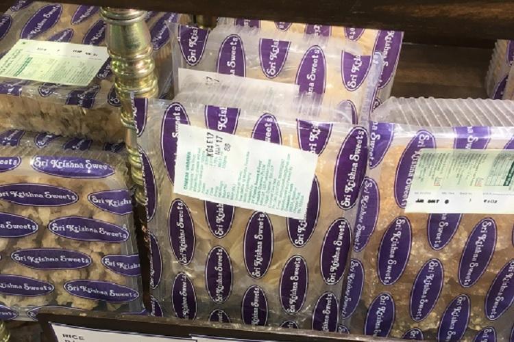 Home is where the murukku is How Chennai shops Sri Krishna and Grand Sweets pack for the NRI
