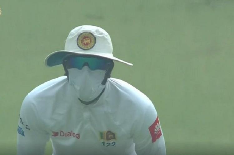 Air quality in Delhi very poor Sri Lankan players leave field again