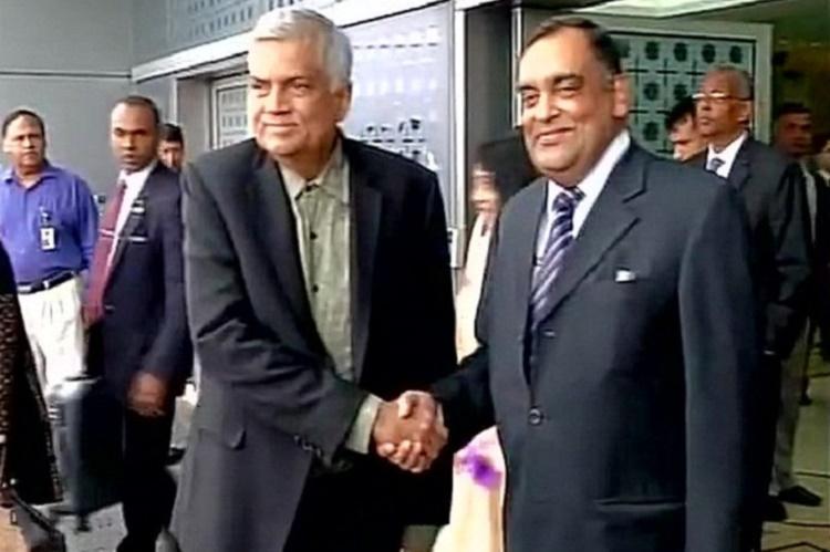 Sri Lankan PM arrives on India visit
