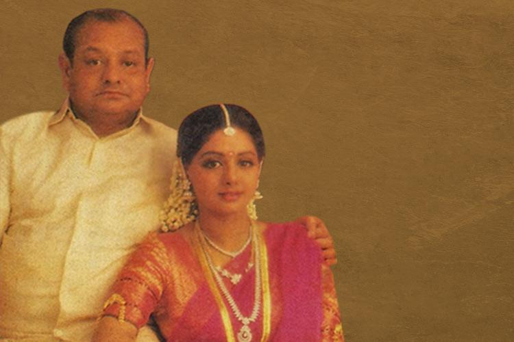 Sridevis brush with politics When the star campaigned for her father in 1989
