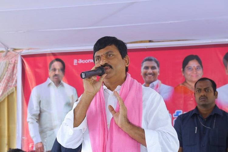 TRS MP Srinivas Reddys properties raided by I-T over familys construction firm