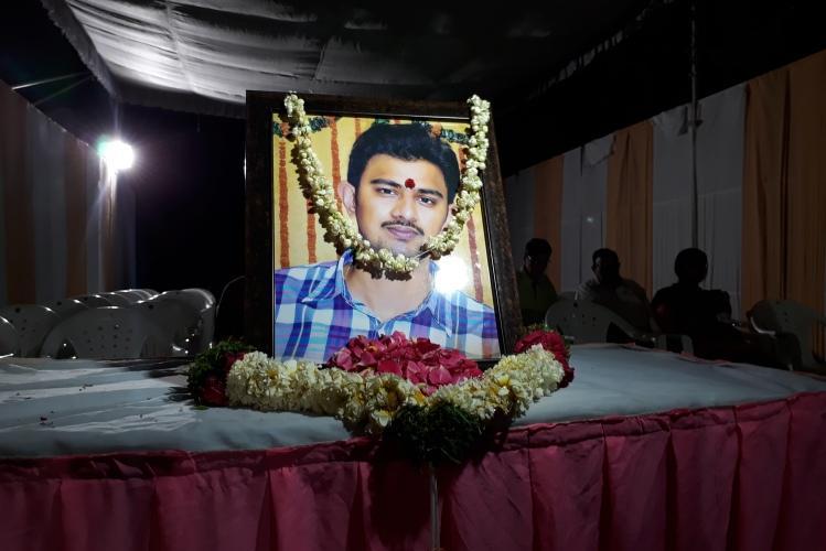 Friends family bid a tearful adieu to techie Srinivas Kuchibotla as body reaches Hyderabad