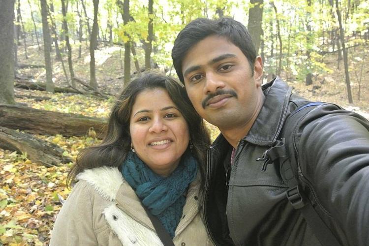 Srinivas was an optimist fan of Arnab proud of Modi Slain techies wife in touching FB post