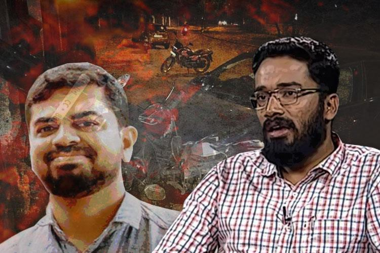 What happened the night a journalist was mowed down by a car driven by an IAS officer
