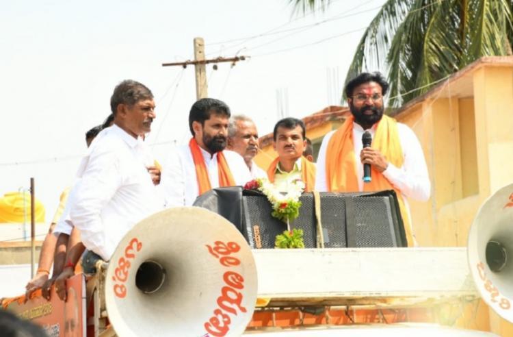 Ballari bye-election BJP sends state leaders to Ballari to counter Congress campaign