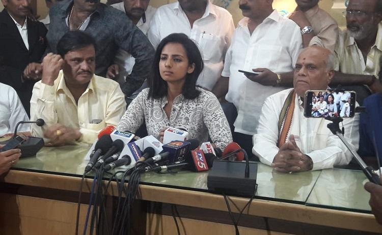 Me Too Sruthi Hariharan records statement before magistrate in Arjun Sarja case