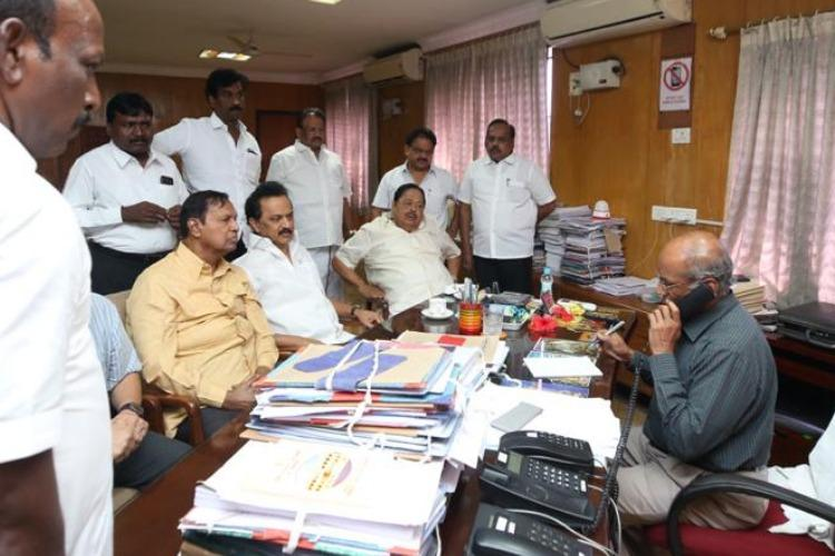 TN local body polls DMK alleges irregularities in counting approaches Madras HC