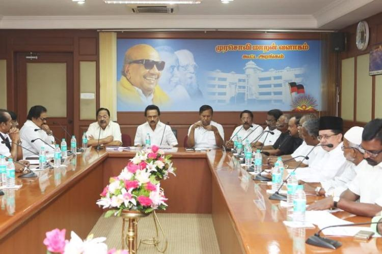 DMK allied parties to stage protest against Centres nod to Ktakas Mekedatu project