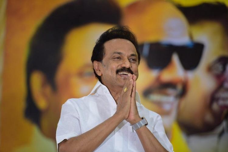 DMK president MK Stalin