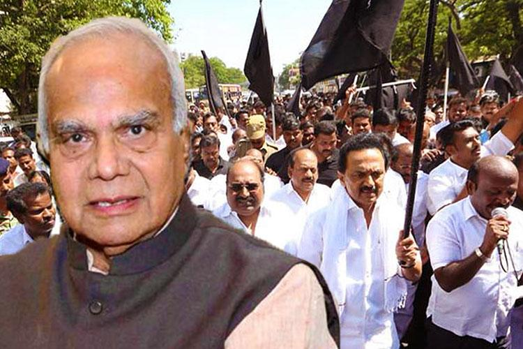 Stalin wants governor to get CM arrested!