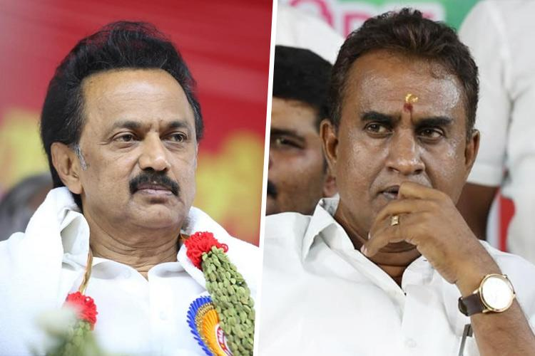 Madras HC refuses to restrain Stalin from making statements against SP Velumani