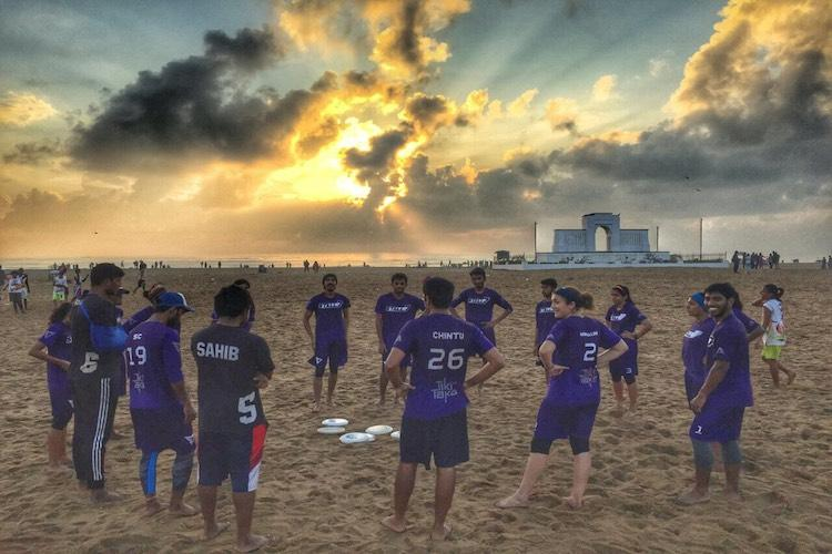 This Chennai club promotes feminism around the city one Frisbee throw at a time