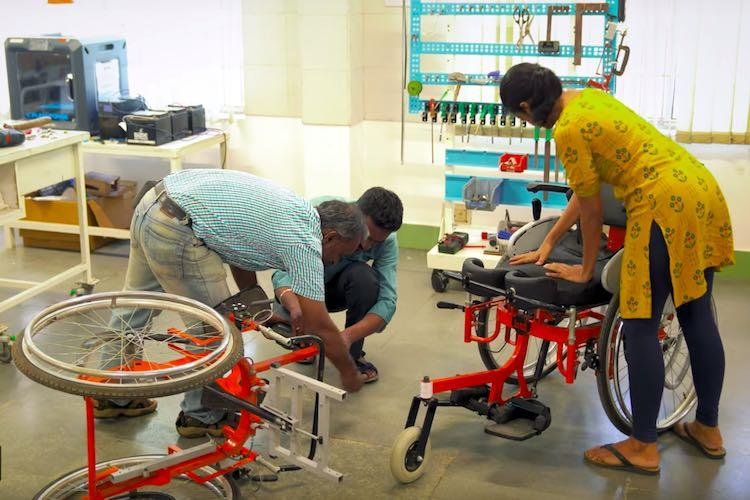 The story of the IIT Madras research centre that made the standing wheelchair