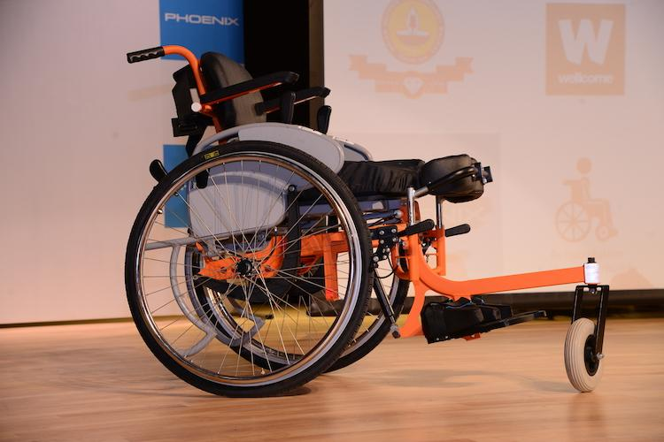 IIT Madras launches Indias first indigenously developed Standing Wheelchair