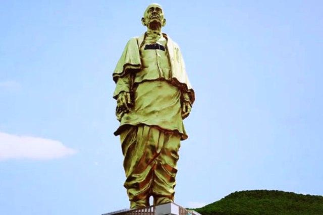 PM Modis Statue of Unity to be built by Chinese workers BJP on the defensive