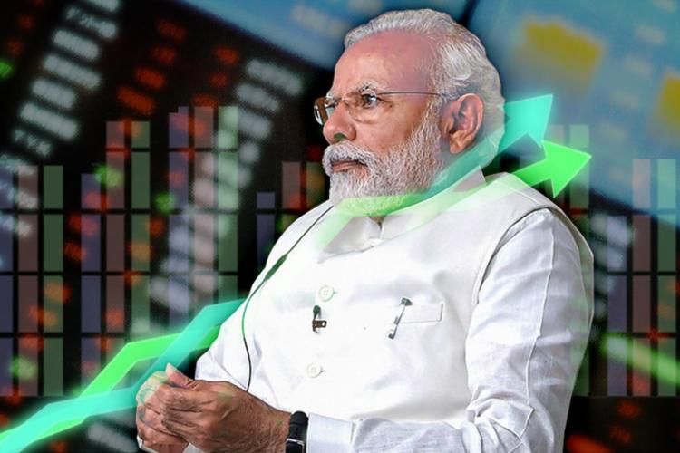 Sensex rallies over 1400 points on PM Modis Rs 20 lakh crore stimulus package