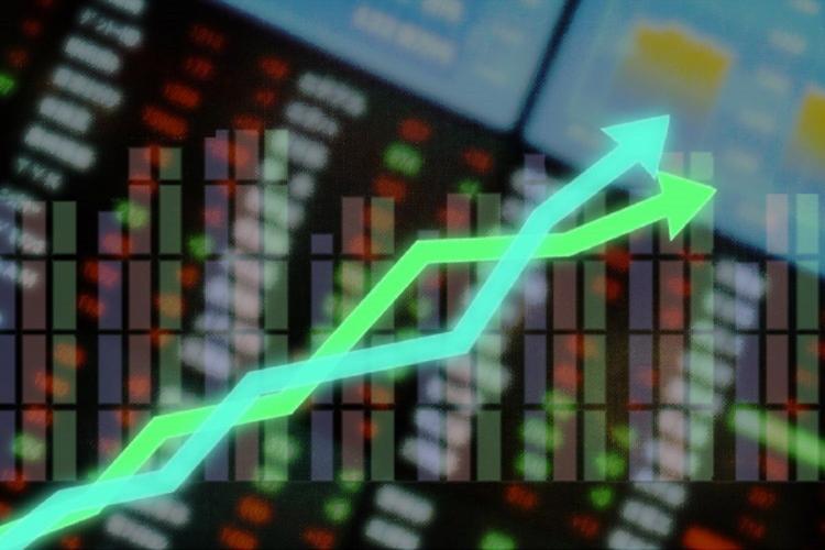 A representative image of Stock market