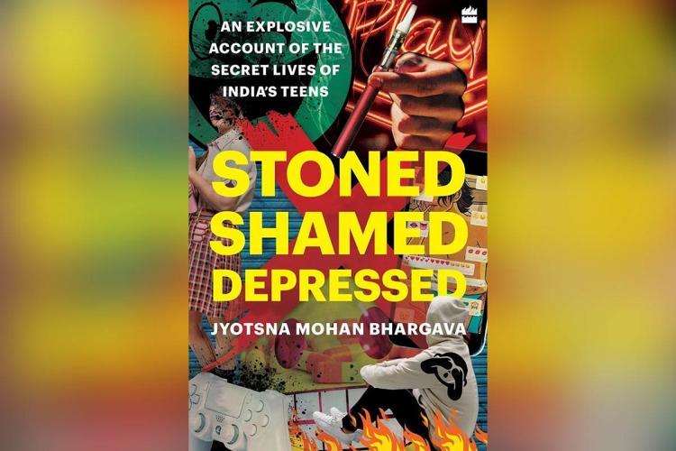 Book cover Stoned Shamed Depressed by Jyotsna Mohan Bhargava