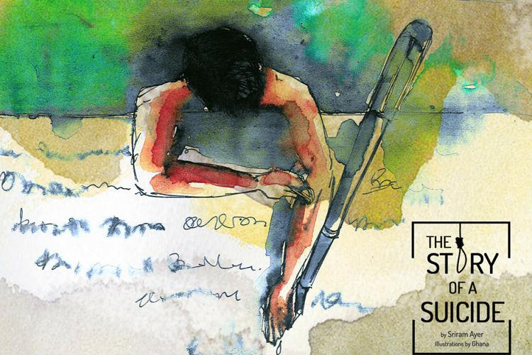 The Story of a Suicide A multi-media project on peculiar struggles of the digital generation