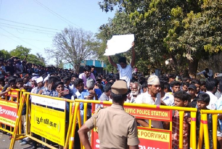 Sexual assault case Protests across TN as outrage continues shutdown in Pollachi
