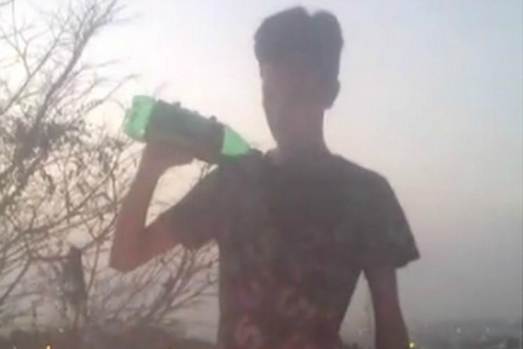 Watch A senseless stunt with fire took this Hyderabad boys life