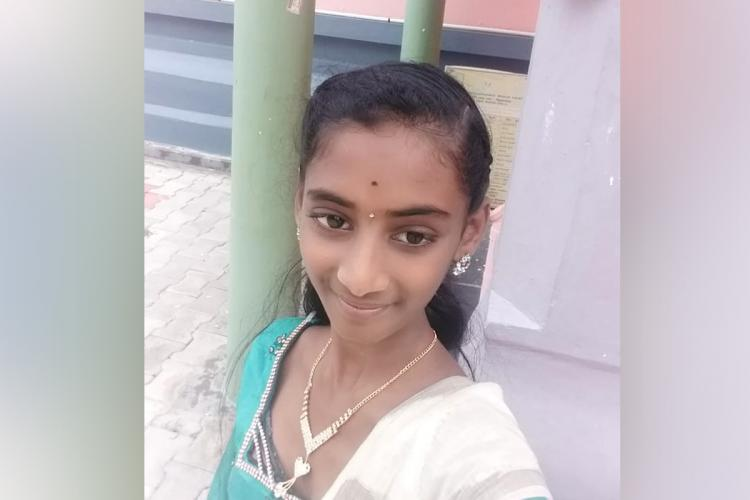 15 year old Subiksha who took her own life in Sivaganga district