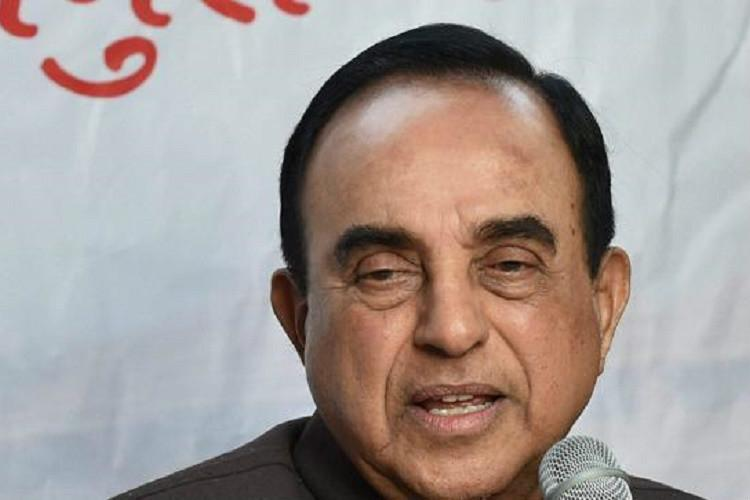 Swamy warns of bloodbath after Jaitley tells him to show restraint