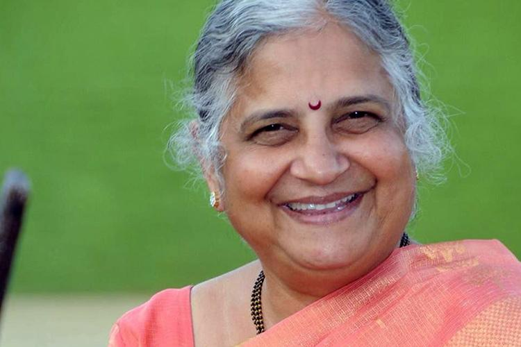 Sudha Murty to continue work at Murty foundation after retirement from Infosys Foundation