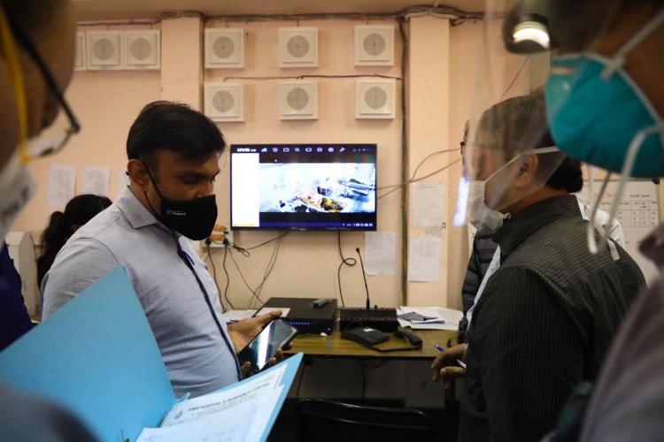 Sudhakar K at KIMS Hospital