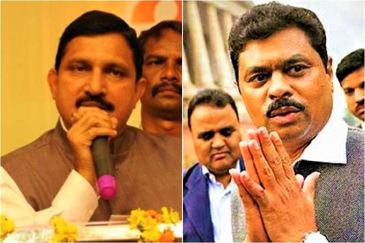 Saving their skin Two TDP MPs who were facing corruption charges have joined BJP