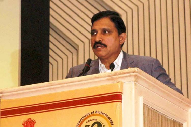 Former Union Minister YS Chowdary speaks at an event