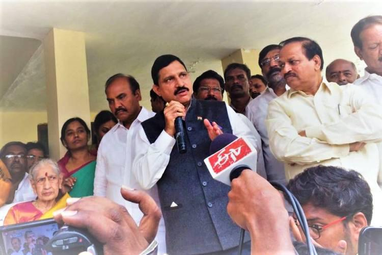 TDP Union Min Sujana Chowdary apologises after comment on special status protests draws flak