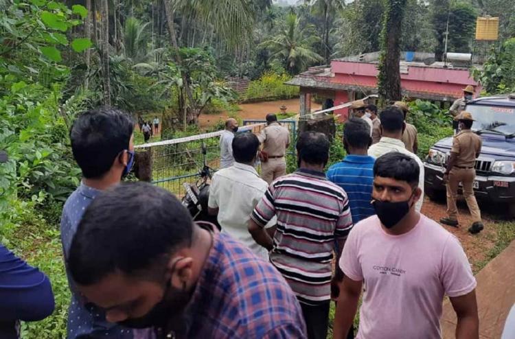 Sullia Sampath Kumar Murder Scene