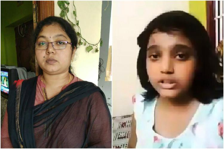 Girl begs father for cancer treatment