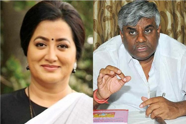 Cong-JDS go on damage control mode after Revannas sexist jibe on Sumalatha