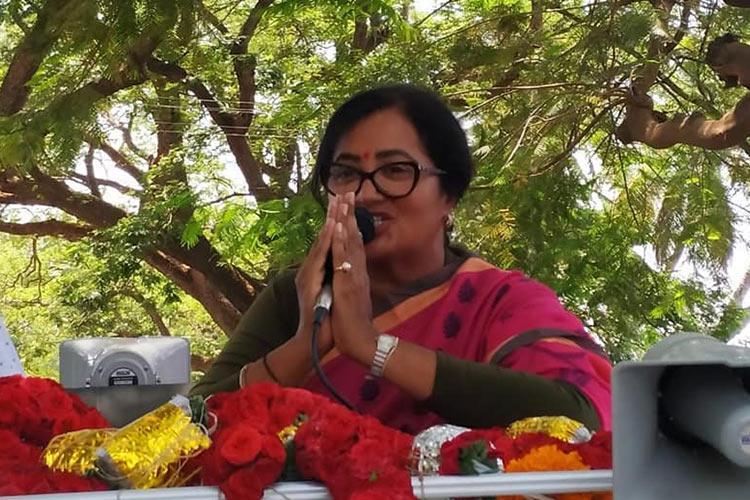 Sumalatha emerges victorious defeats JDS-Congress might in Mandya