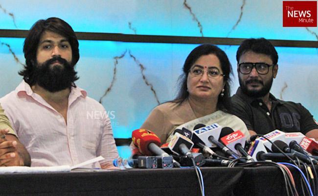 Karnataka BJP MLA writes to Home Min seeks protection for Sumalatha Darshan Yash