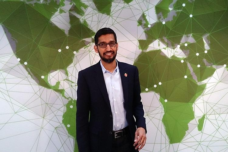 Google CEO Sundar Pichai disappointed with Trumps suspension of H-1B other work visas