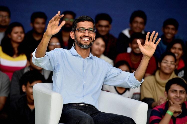 Google wont deploy AI to build military weapons CEO Sundar Pichai