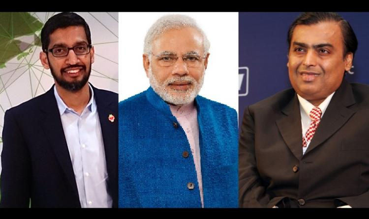 PM Modi Mukesh Ambani and Google CEO nominated for Time Person of the Year award