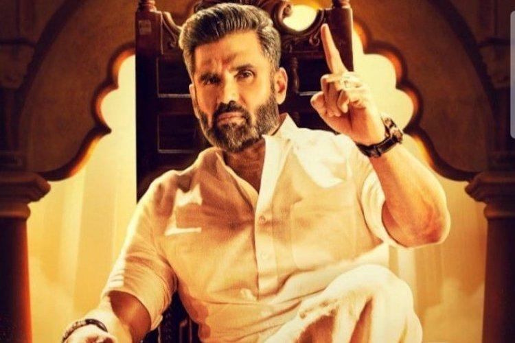 Suniel Shetty excited about his look in Pailwaan