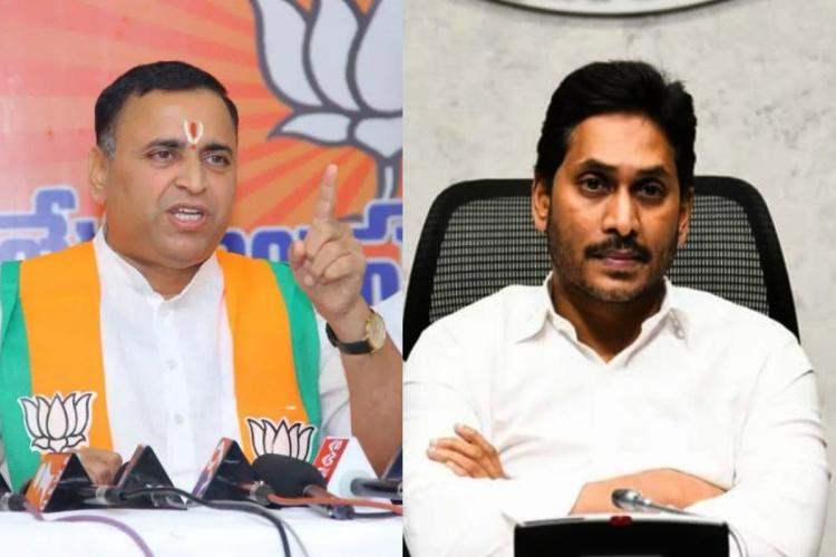 A collaged image shows Suni Deodhar and CM YS Jagan Mohan Reddy