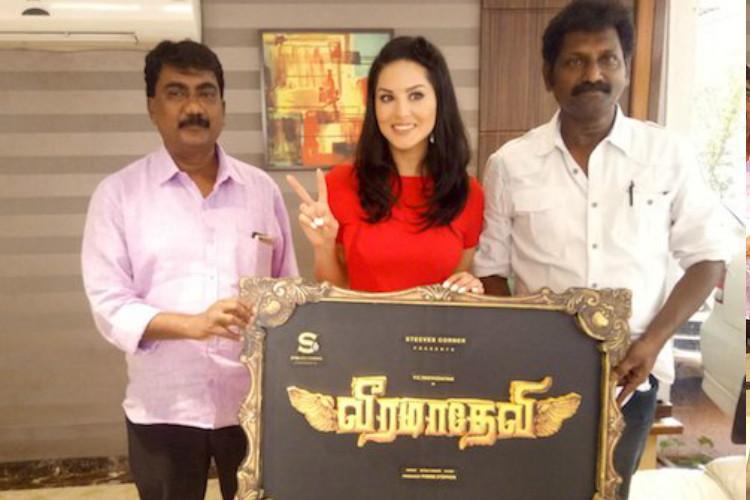 Sunny Leone signs up for period war saga Veeramadevi