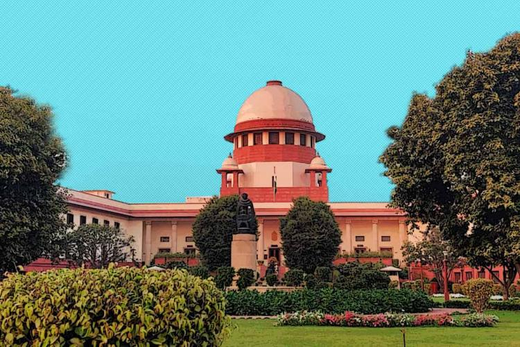 An image of the Supreme Court of India