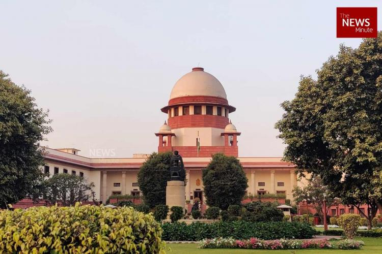 A view of the Supreme Court of India