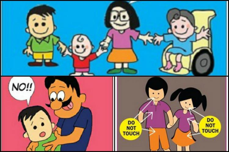 Surakshith an app to teach your kids about good and bad touch internet safety