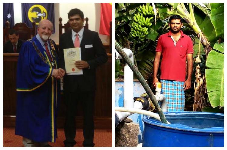 This techie quit his job in Australia to become a full-time farmer in Coimbatore