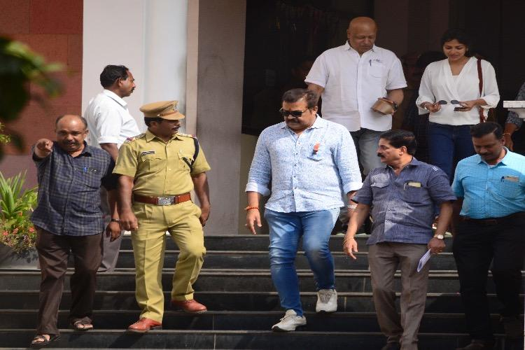 Actor and MP Suresh Gopis arrest recorded let off on bail in tax evasion case