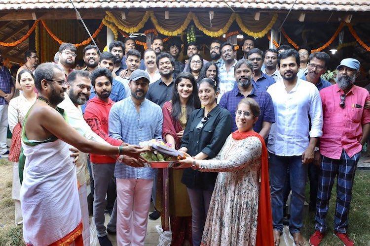Suriya 38 starts rolling Aparna Balamurali signed as female lead